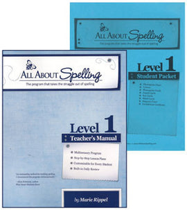 All About Spelling Teacher / Student Combo Kit, Level 1