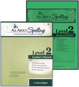 All About Spelling Teacher / Student Combo Kit, Level 2