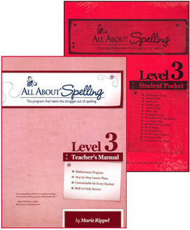 All About Spelling Teacher/Student Combo Kit, Level 3