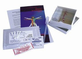 Advanced Biology Slides W/Blood Typing Kit