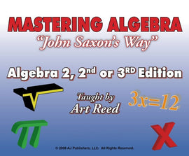 Mastering Algebra - Algebra 2, 2nd or 3rd Edition Online Tutorial Subscription