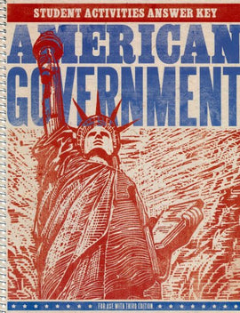 BJU Press American Government Student Activities Manual Answer Key, 3rd Edition