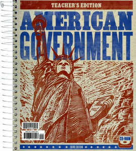 BJU Press American Government Teacher's Edition, 3rd Edition