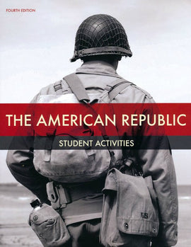 BJU Press American Republic Student Activities Book (4th Edition)