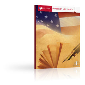 Alpha Omega Lifepac American Literature Set
