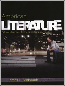 American Literature Student Edition, by James Stobaugh