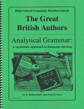 Analytical Grammar High School Reinforcement - British Authors