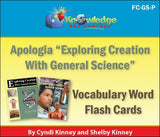 Apologia Exploring Creation with General Science Vocabulary Word Flash Cards, 1st & 2nd Ed, E-Book