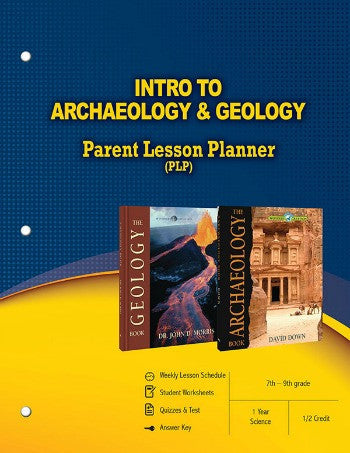 Intro To Archaeology and Geology Parent Lesson Planner
