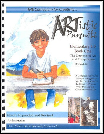 ARTistic Pursuits, Grades 4-5 Book One: The Elements of Art and Composition, 3rd edition