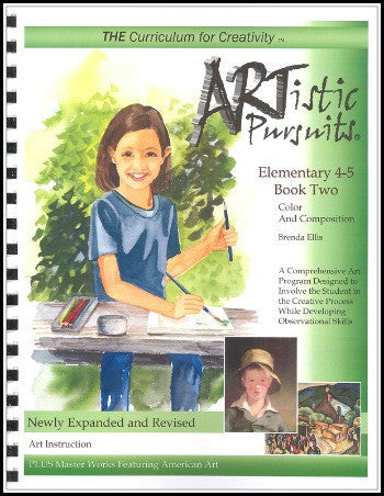 ARTistic Pursuits, Grades 4-5 Book Two: Color and Composition, 3rd edition