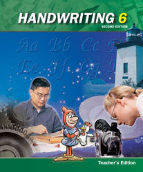 BJU Press Handwriting 6 Teacher's Edition (2nd ed.)