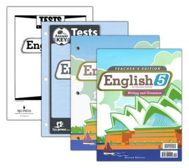 BJU Press English 5 Home School Kit, 2nd Edition