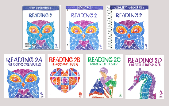 BJU Press Reading 2 Home School Kit, 3rd Edition