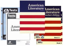 BJU Press American Literature Home School Kit, 3rd Edition