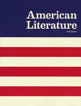 BJU Press American Literature Student Text, 3rd Edition