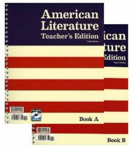 BJU Press American Literature Teacher's Edition, 3rd Edition