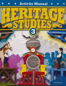 BJU Press Heritage Studies 3 Student Activity Manual, 3rd ed.