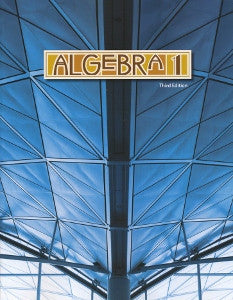 BJU Press Algebra 1 Student Text, 3rd Ed