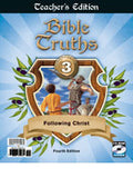 BJU Press Bible Truths 3 Teacher's Edition with CD, 4th Edition