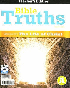 BJU Press Bible Truths Level A Teacher's Edition/CD, 4th Edition