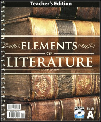 BJU Press Elements of Literature Teacher's Edition with CD, 2nd Edition