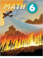 BJU Press Math 6 Student Text, 3rd Edition