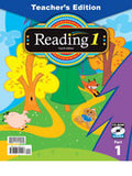 BJU Press Reading 1 Teacher's Edition Book & CD, 4th Edition