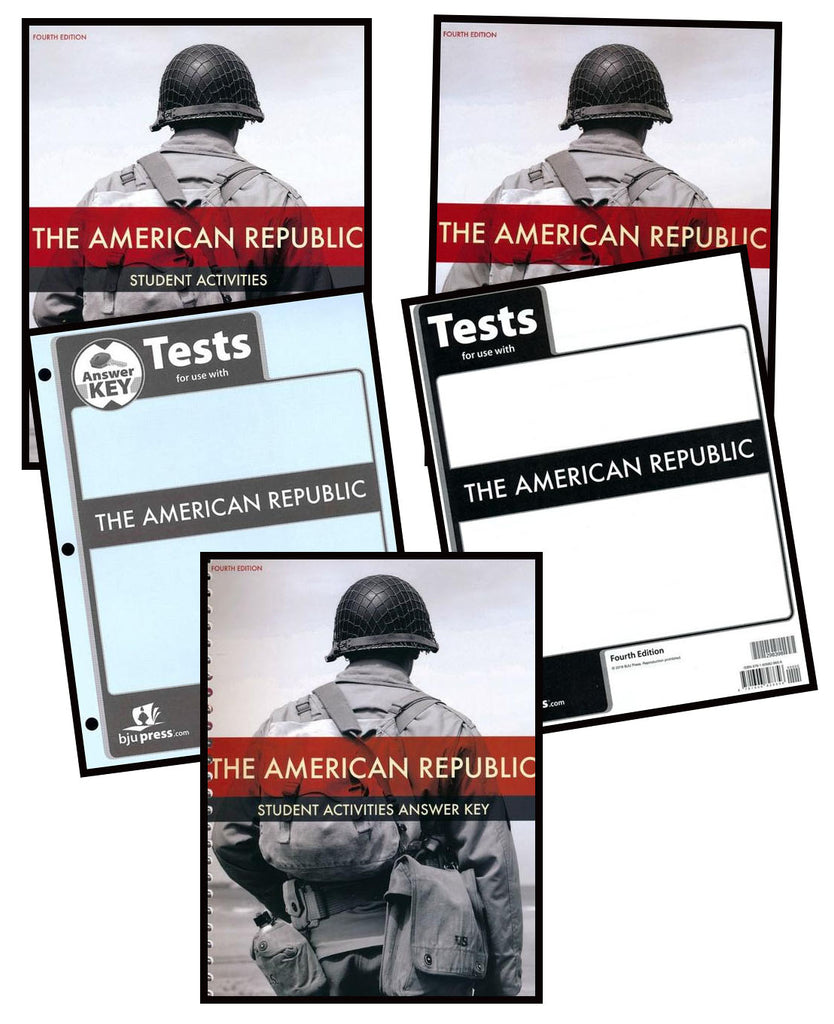 BJU Press American Republic Homeschool Kit (4th Edition)