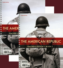 BJU Press American Republic Teacher Edition (4th ed) with CD