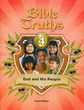 BJU Press Bible Truths 4: God and His People Student Text, 4th edition