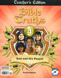 BJU Press Bible Truths 4 Teacher's Edition with CD, 4th edition