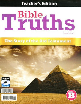 BJU Press Bible Truths Level B Teacher's Edition with CD, 4th edition
