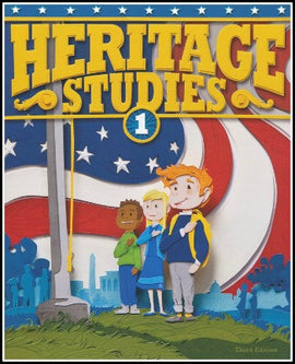 BJU Press Heritage Studies 1 Student Text, 3rd Edition