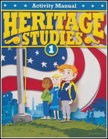 BJU Press Heritage Studies 1 Student Activity Manual, 3rd Edition