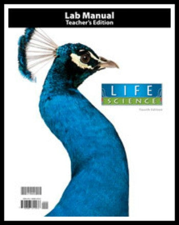 BJU Press Life Science Lab Manual Teacher's Edition, 4th Edition