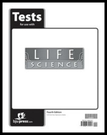 BJU Press Life Science Tests, 4th Edition
