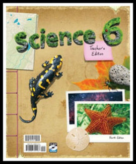 BJU Press Science 6 Home Teacher 's Edition with CD-ROM, 4th Edition