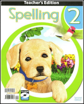BJU Press Spelling 2 Home Teacher's Edition, 2nd edition