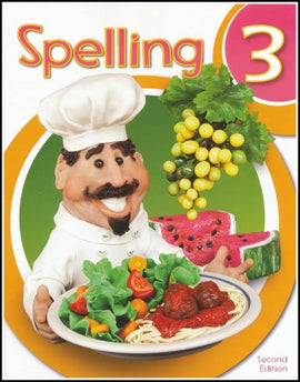 BJU Press Spelling 3 Student Worktext, 2nd edition