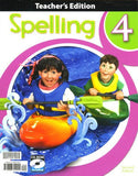 BJU Press Spelling 4 Teacher's Edition with CD, 2nd edition