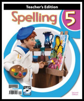 BJU Press Spelling 5 Home Teacher's Edition with CD-ROM, 2nd Edition
