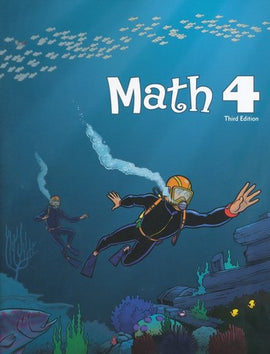 BJU Press Math 4 Student Worktext - 3rd ed.
