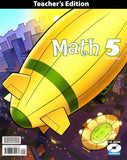 BJU Press Math 5 Home Teacher's Edition with CD (3rd ed.)