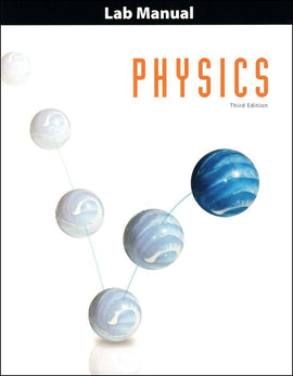 BJU Press Physics Student Lab Manual, 3rd Edition