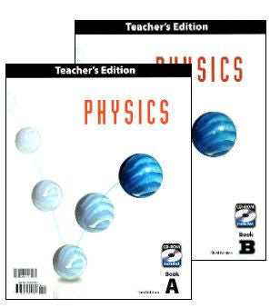 BJU Press Physics Teacher's Edition (12th grade) 3rd Edition