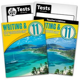 BJU Press Writing & Grammar 11 Home School Kit (3rd edition)