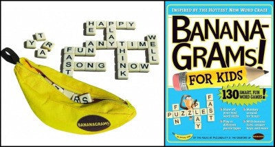 Bananagrams Game & Book Set