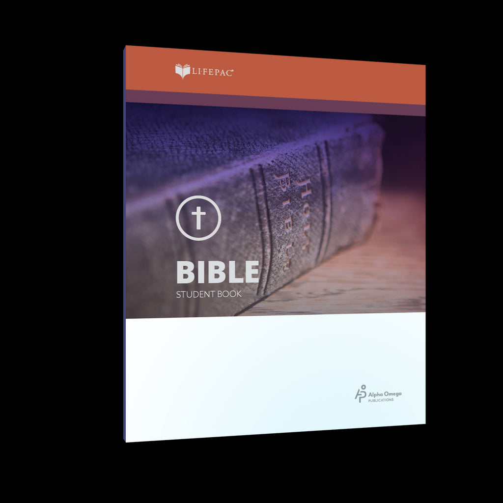 Alpha Omega LIFEPAC 11th Grade - Bible - Set of 10 Workbooks