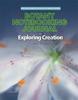 Exploring Creation with Botany Notebooking Journal